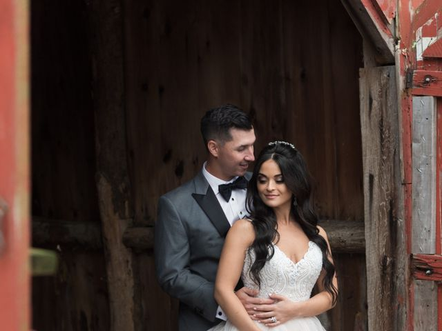 Nick and Gia's Wedding in Central Valley, New York 18
