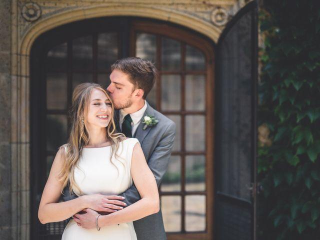 The wedding of Elliott and Paige