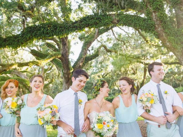 Brooke and Matt's wedding in South Carolina 9