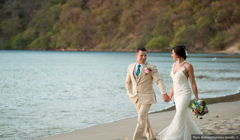 Alex and Stefanie's Wedding in Tamarindo, Costa Rica