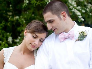The wedding of Trey and Crystal