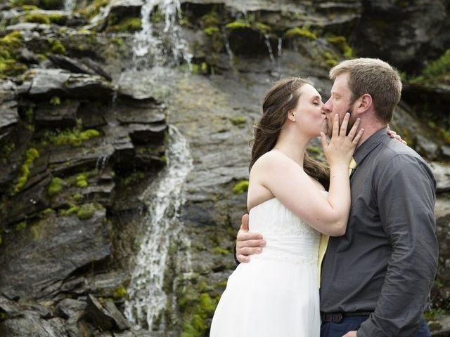 The wedding of Derek and Erin