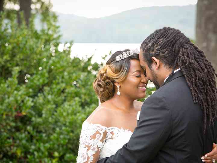 The wedding of Londan and Christopher
