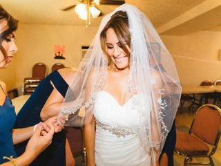 The wedding of Crystal and Frankie 1