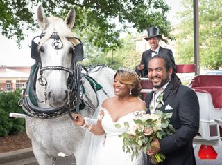 The wedding of Londan and Christopher 1
