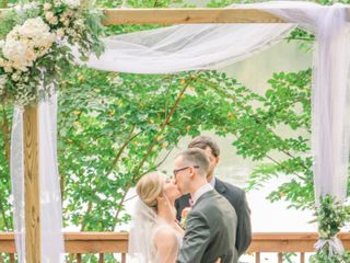 The wedding of Kristie and Kyle 1