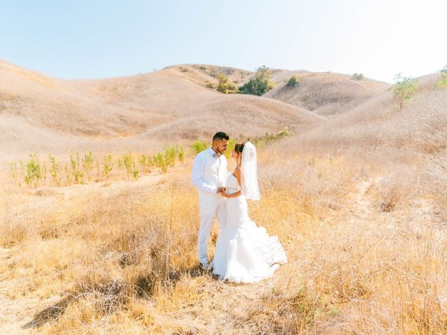 The wedding of Crystal and Frankie