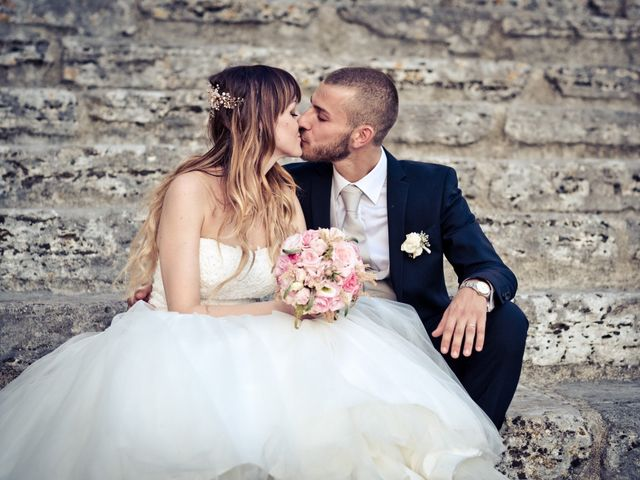 The wedding of Martina and Damiano