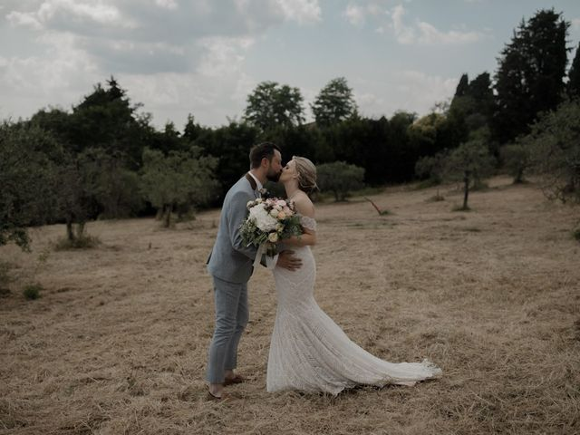 The wedding of Kristen and James