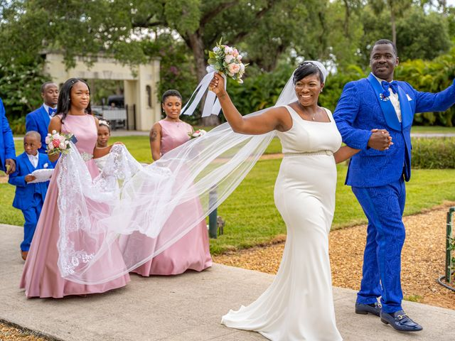 Berry and Evette's Wedding in Fort Lauderdale, Florida 7