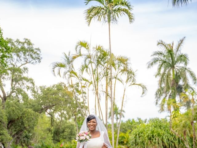 Berry and Evette's Wedding in Fort Lauderdale, Florida 13