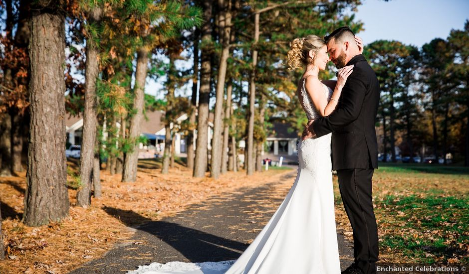 Dominick and Stephanie's Wedding in Egg Harbor City, New Jersey