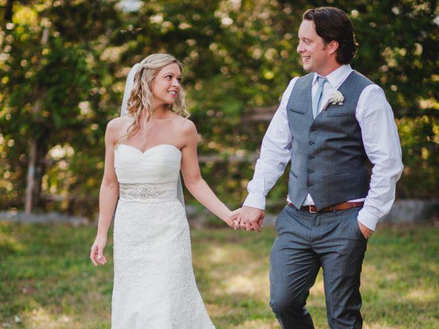 The wedding of Scott and Bridgette