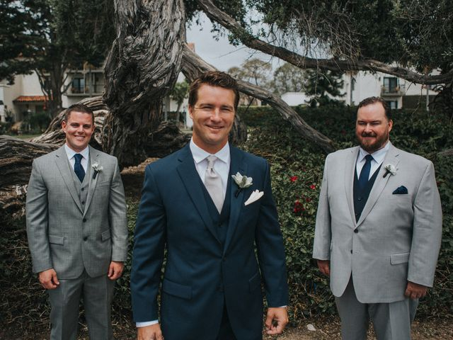 Heather and Mike's Wedding in Santa Barbara, California 8
