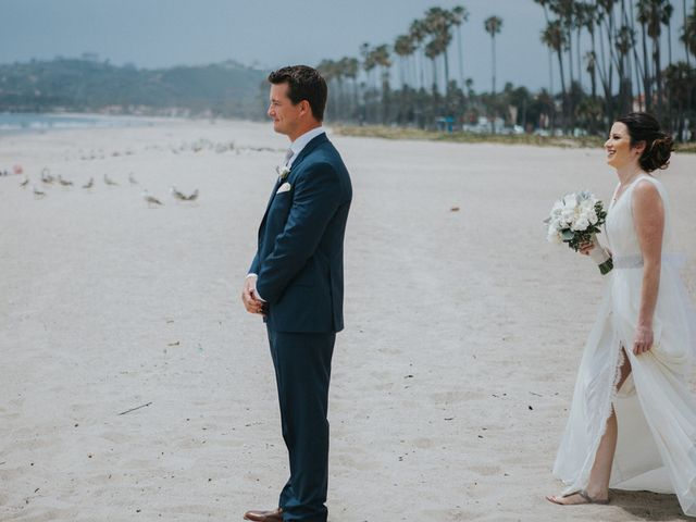 Heather and Mike's Wedding in Santa Barbara, California 9