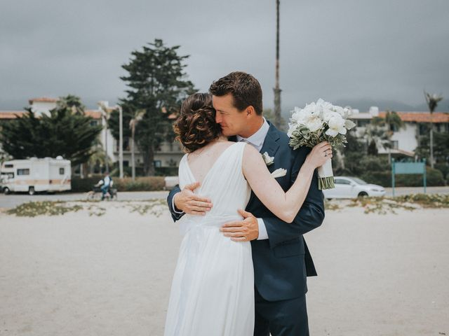 Heather and Mike's Wedding in Santa Barbara, California 10
