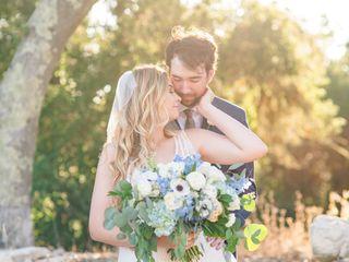 The wedding of Katherine and Brad
