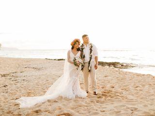 The wedding of Aarik Robles and Teresa Robles 1