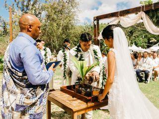 The wedding of Aarik Robles and Teresa Robles 3