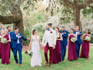 The wedding of Liana and Chris
