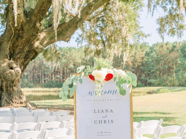 Chris and Liana's Wedding in Charleston, South Carolina 41