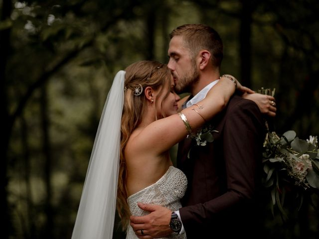 The wedding of Kaelin and Steven