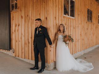 The wedding of Autum and Garret