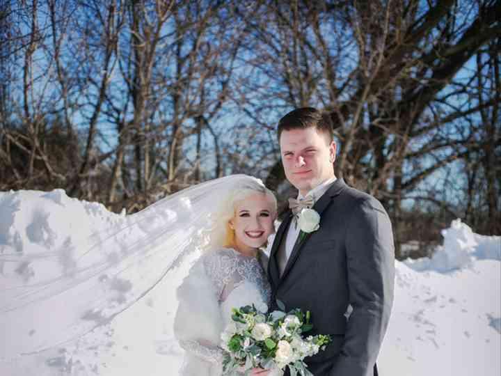 The wedding of Caleb and Christina