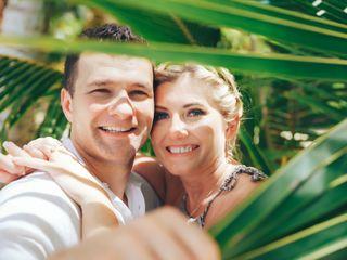 The wedding of Gabriella Szombati and Laszlo Deak 1