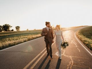 The wedding of Suzannah and Jeremy