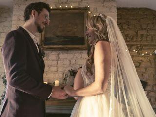 The wedding of Collin and Katrina