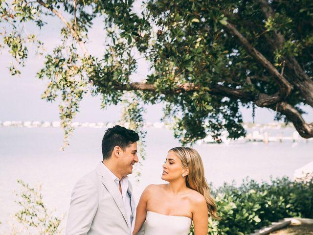 Lauren and Nick's Wedding in Key Largo, Florida 73