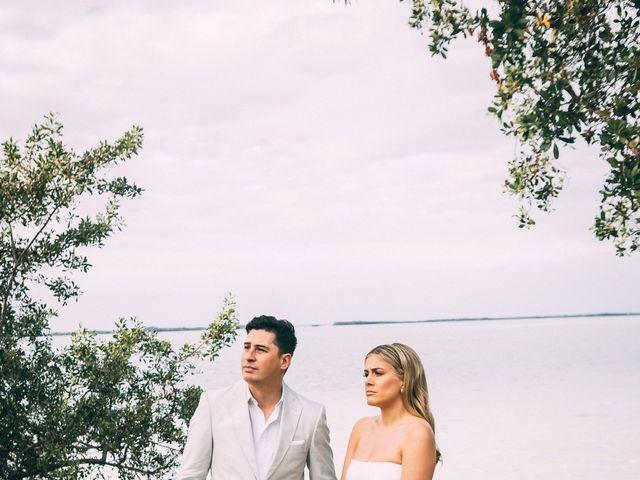 Lauren and Nick's Wedding in Key Largo, Florida 81