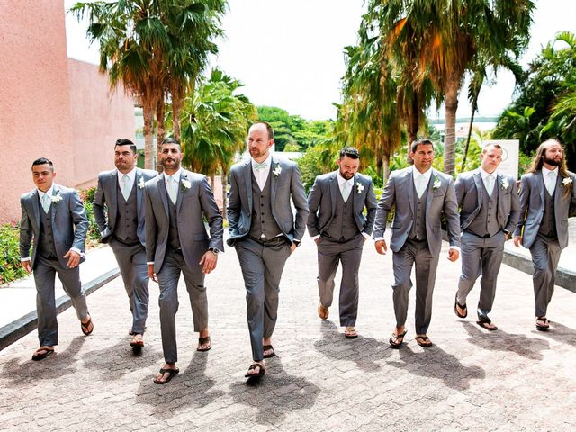 Shawn and Brittney's Wedding in Cancun, Mexico 16
