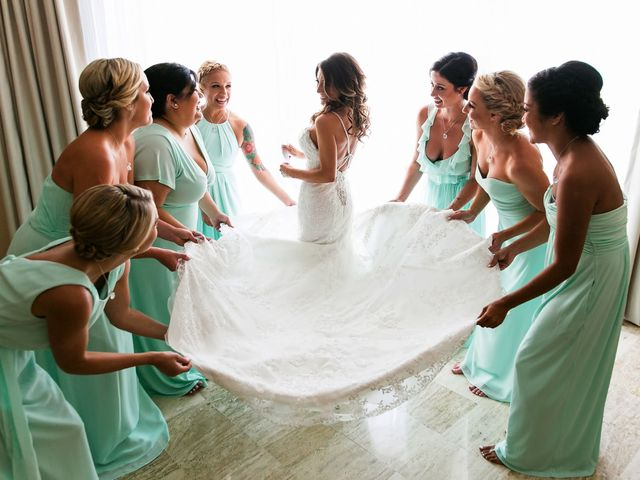 Shawn and Brittney's Wedding in Cancun, Mexico 27