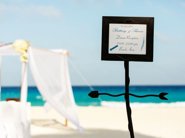 Shawn and Brittney's Wedding in Cancun, Mexico 33