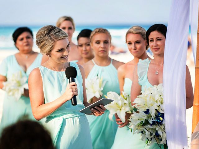 Shawn and Brittney's Wedding in Cancun, Mexico 39