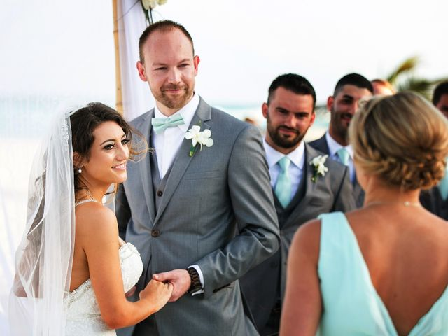 Shawn and Brittney's Wedding in Cancun, Mexico 40