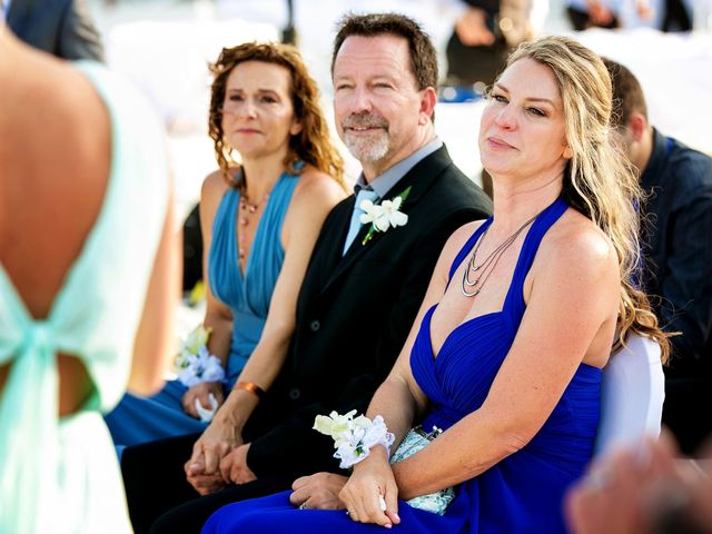 Shawn and Brittney's Wedding in Cancun, Mexico 41