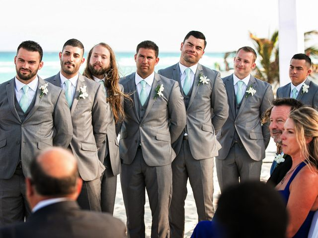 Shawn and Brittney's Wedding in Cancun, Mexico 44