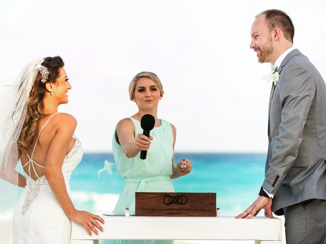 Shawn and Brittney's Wedding in Cancun, Mexico 46
