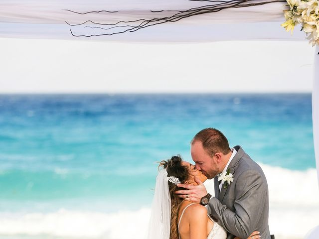 Shawn and Brittney's Wedding in Cancun, Mexico 49