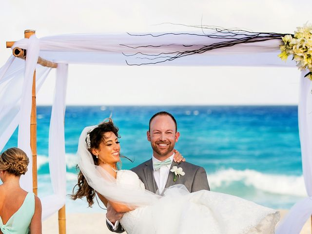 Shawn and Brittney's Wedding in Cancun, Mexico 50