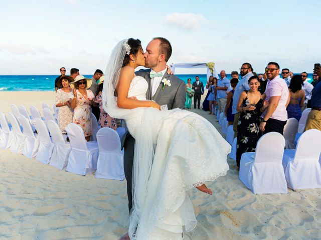 Shawn and Brittney's Wedding in Cancun, Mexico 51