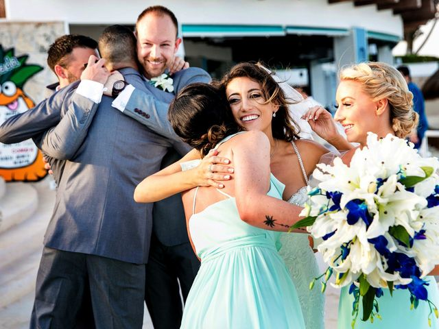 Shawn and Brittney's Wedding in Cancun, Mexico 52