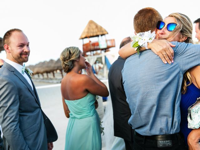 Shawn and Brittney's Wedding in Cancun, Mexico 53