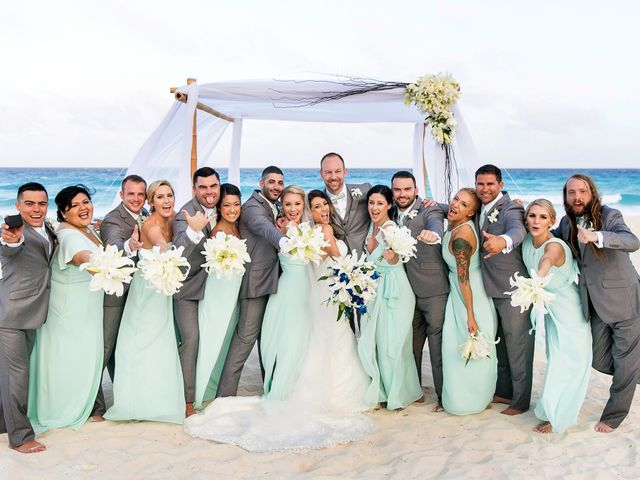 Shawn and Brittney's Wedding in Cancun, Mexico 54