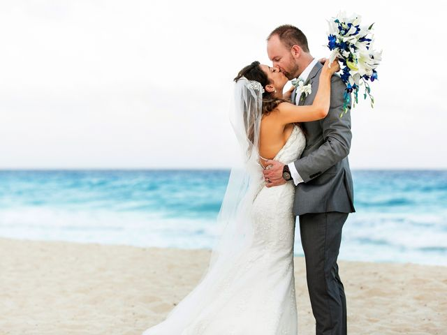 Shawn and Brittney's Wedding in Cancun, Mexico 58