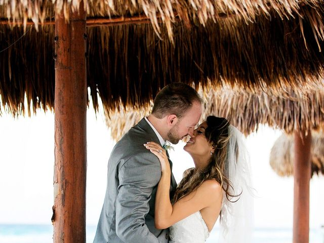 Shawn and Brittney's Wedding in Cancun, Mexico 59