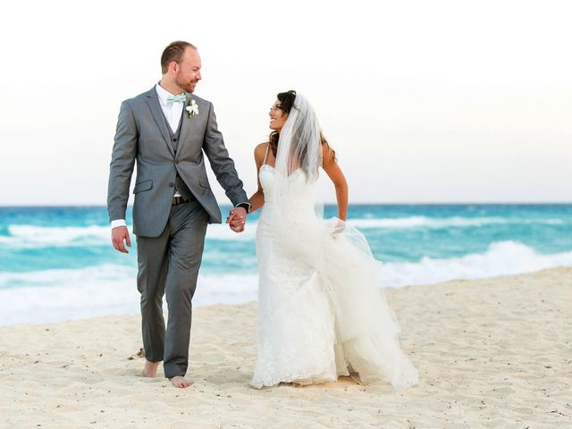 Shawn and Brittney's Wedding in Cancun, Mexico 60